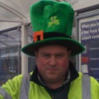 It wasn't all fun and games on Patrick's Day - some people had to work. Boo. But the staff at DAA landside operations in Dublin Airport still made the effort for the day. 