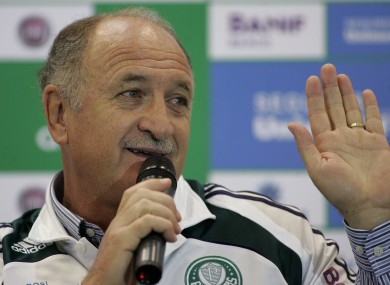 Scolari was in charge of Chelsea briefly during the 2008-2009 season.