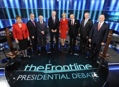 The #aras11 debate on The Frontline last October