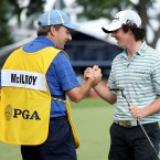 In August 2009, McIlroy finished in a tie for third at the 2009 PGA Championship at Hazeltine. He went on to finish the season as world number nine.