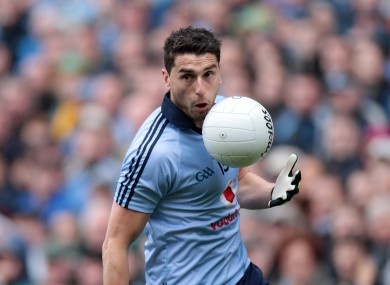 Brogan has struggled with injuries since helping Dublin win the All-Ireland last Sunday.