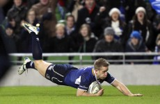 Team news: Luke Fitzgerald back in the fold for Leinster