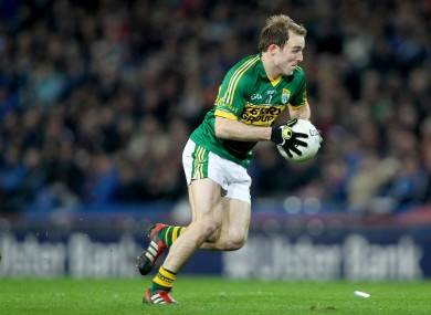 Darran O'Sullivan starts for Kerry today.