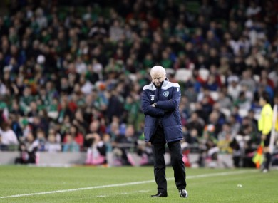 Giovanni Trapattoni: preparing for summer campaign.