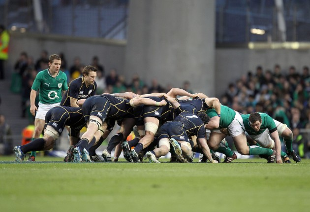 View of a scrum 10/3/2012