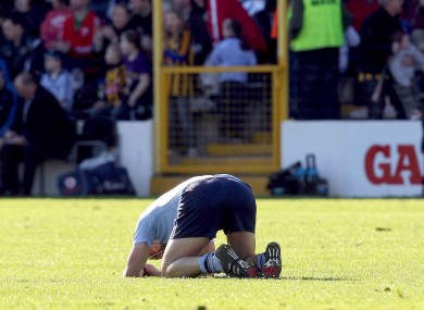 Danny Sutcliffe: stunned after last weekend's defeat against Kilkenny.