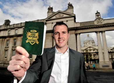 New Ford Ambassador John O'Shea launches the 'Ford Republic of Football' campaign