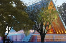 Christchurch plans cardboard cathedral after devastating earthquake