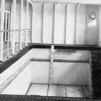 A swimming pool aboard the Titanic.