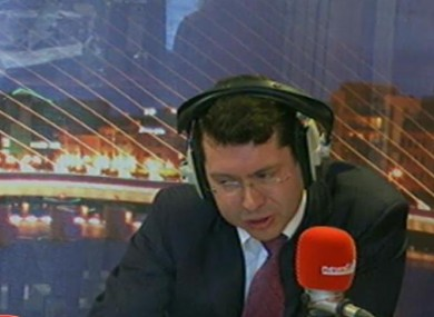 Rnn Mullen on Newstalk's Lunchtime programme today 