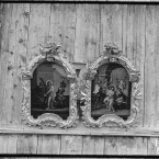 Two icons in the Church of the Prophet Elijah, 1909. (Library of Congress, Prints & Photographs Division)