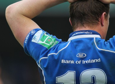 Brian O'Driscoll: back in action with the Blues.