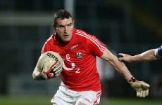 Ready to go: Canty returns to Cork starting line-up