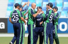 Cash money: RSA extend Cricket Ireland sponsorship until 2015
