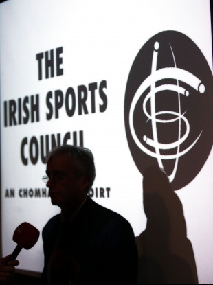 John Treacy, CEO of the Irish Sports Council.