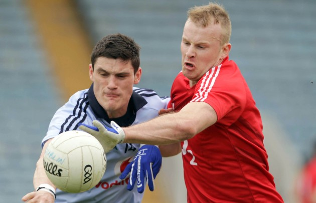 Diarmuid Connolly with Michael Shields 8/4/2012