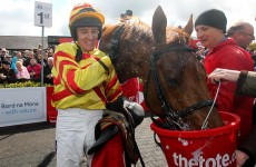 China Rock rolls to unlikely Punchestown Gold Cup win