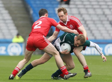 Tyrone and Kildare locked horns in Croke Park