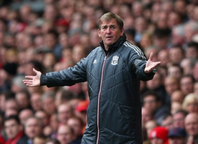 Kenny Dalglish: facing Everton at Wembley this weekend.