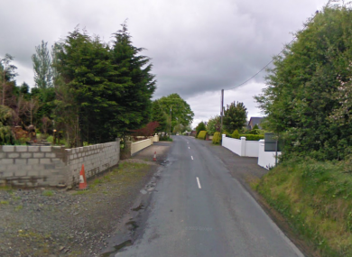 The Farnane area of Murroe, Co Limerick, where this afternoon's accident occurred.