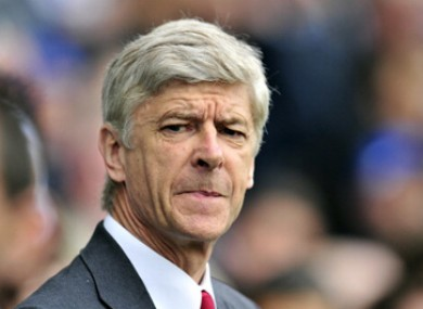 Arsen Wenger says players are diving with increasing regularity nowadays.