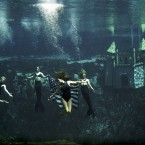 Fed by the massive Weeki Wachee Springs, the Mermaid Show Theater an hour north of Tampa is an aquatic cousin to the terrestrial tackiness of road-trip classics like South Dakotas Corn Palace and Route 66s dusty concrete dinosaurs.