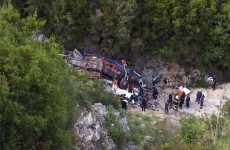 12 students die after bus falls off 80m cliff in Albania