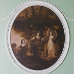 One of the Angelica Kauffmann roundels...
