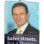 Enda promises that streets will be safer with Fine Gael in government. (Albert Gonzalez / Photocall Ireland)