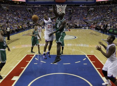 Boston Celtics' Ray Allen during Game 6 of an NBA basketball Eastern Conference semi-final.