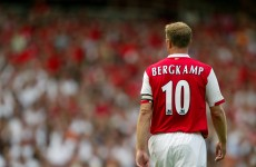 Happy birthday Dennis: here are Bergkamp's five best goals
