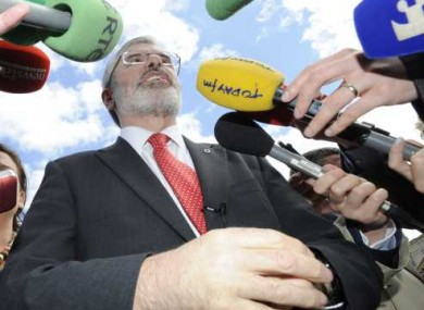 Sinn Féin president Gerry Adams found cause for optimism in the Court's declaration that there was room for