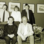 Members of the Haughey family on the occaion of Charles Haughey's 60th birthday in 1985. Pictured (clockwise from left) is Sean, Eimear, Conor, Charlie and Maureen. Pic: Photocall Ireland!