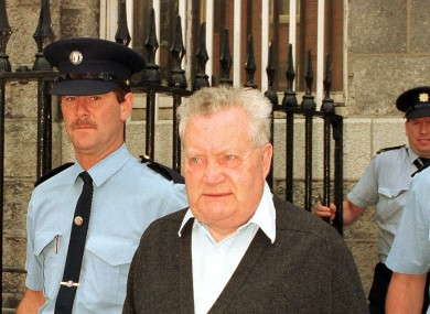 Brendan Smyth pictured before his sentencing in 1997