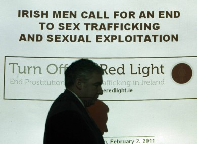 Turn Off the Red Light have called for a ban on the commercial sex trade