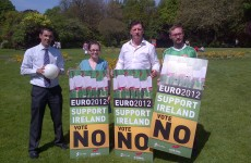 'Extremely deceptive': Call for Sinn Féin to remove Euro 2012 posters