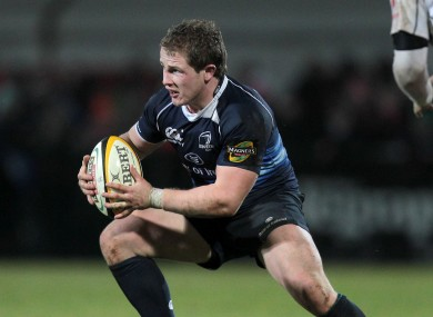 Jason Harris-Wright in action against Ulster in 2010.