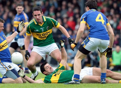 Back for more: Kerry and Tipperary clash for the third year running