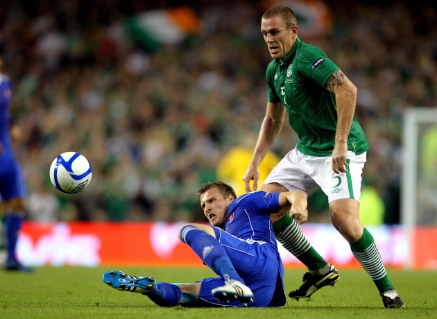 Richard Dunne and Jan Durcia 2/9/2011