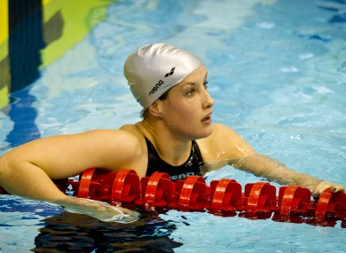 Melanie Nocher will be hoping to secure qualification for the Olympics in Debrecen.
