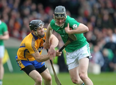 Clare and Limerick have had some battles on the field over the years - a local rivalry that spilled over to the Dáil today.