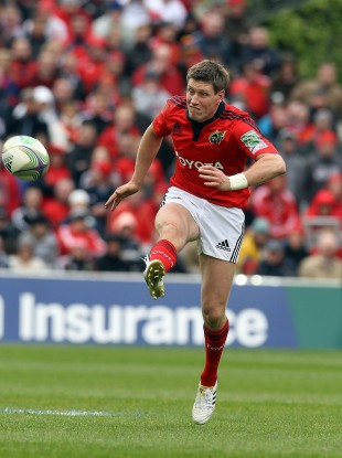 Ronan O'Gara: injured in defeat to Ulster last month.
