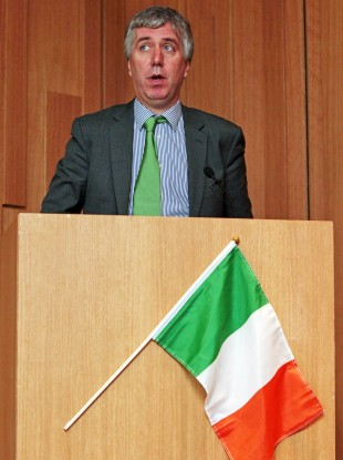  John Delaney was speaking at the launch of drinkaware.ie's guide to Euro 2012 survival.