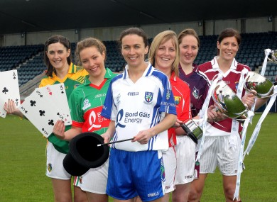 Representatives from the Division finalists at Parnell Park this week.
