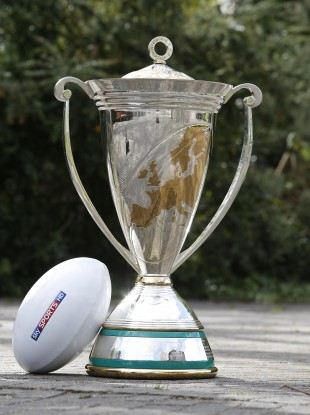 Impressive: The Heineken Cup trophy.
