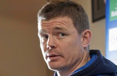 All about 'the process, not the prize' for O'Driscoll