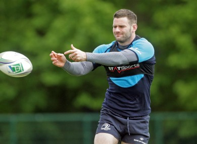 Fergus McFadden: gets the nod.