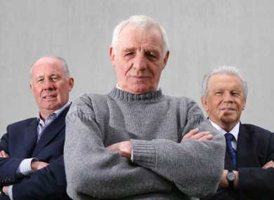Messrs Liam Brady, Eamon Dunphy and John Giles.