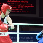 Katie Taylor in action.