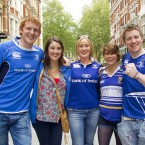Leinster Fans ahead of The Heineken Cup Final, London 